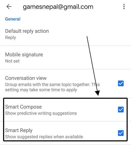 Smart Compose and Reply in Gmail