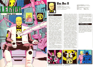 Vril Dox Ficha DC Comics