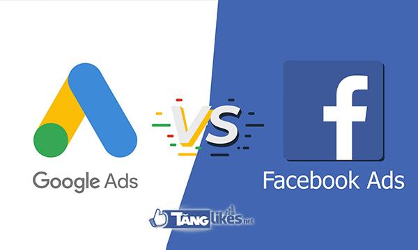 Thế mạnh quảng cáo google và facebook
