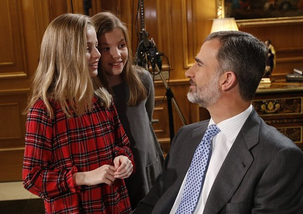 The Royal Household of Spain released a video showing events and domestic lives of King Felipe, Queen Letizia, Princess Leonor and Infanta Sofía