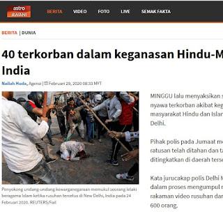 Islam ditindas dibumi india