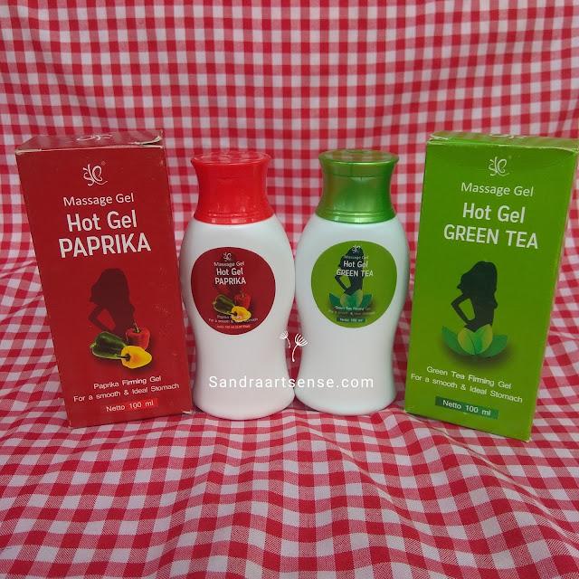 SYB Hot Gel Paprika & Green Tea
