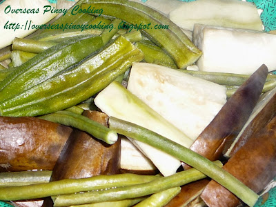 Steamed Vegetables, Pinasingaw na Gulay