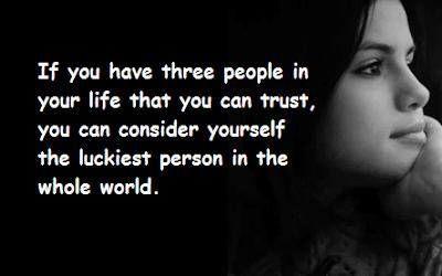 """""""Selena Gomez Quotes Three People"""""""