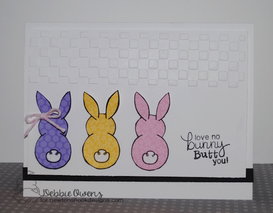 No Bunny by Debbie featuring Bunny Hop by Newton's Nook Designs, #newtonsnook