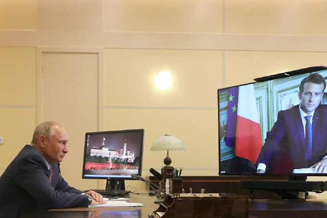 Τι συμφώνησαν Μακρόν και Πούτιν;
