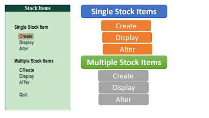 Stock Items in tally erp 9,stock items meaning ,creating stock items in tally ,stock items in tally ,stock in tally ,