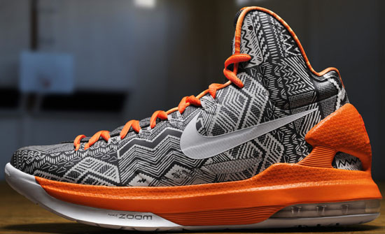 newest 49ee5 4eb20 Nike Zoom KD V BHM Anthracite Pure Platinum-Sport Grey
