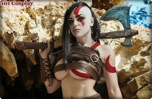 Frank Kratos cosplay from Octokuro