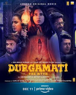 Download Durgamati The Myth (2020) Hindi Movie 480p 720p HD