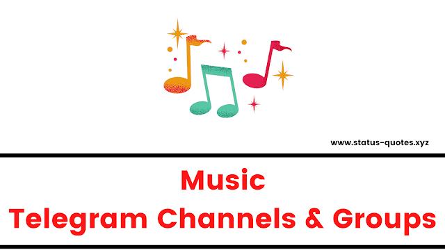 Music Telegram Channels & Telegram Music Groups