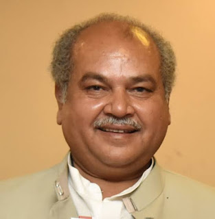 UNION MINISTER OF AGRICULTURE & FARMERS' WELFARE, SHRI NARENDRA SINGH TOMAR HOLDS MEETING WITH WORLD BANK REPRESENTATIVES TO BRING LARGE BIHAD AREA OF GWALIOR–CHAMBAL REGION UNDER AGRICULTURE
