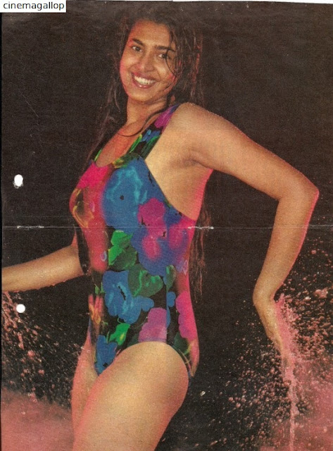 Kasturi in Swimsuit-Old is Gold Glamour too
