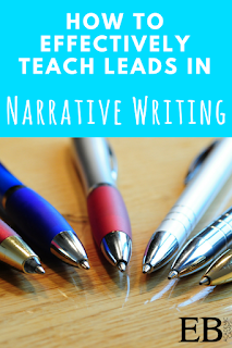 Use these easy tools to effectively teach leads in narrative writing in your middle school and high school English Language Arts (ELA) classroom!