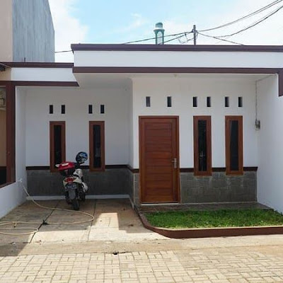 Rumah minimalis dengan dak