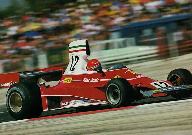 Ferrari 312T 1970s Italian F1 car