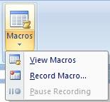 What is macros write the steps for creating macros in hindi