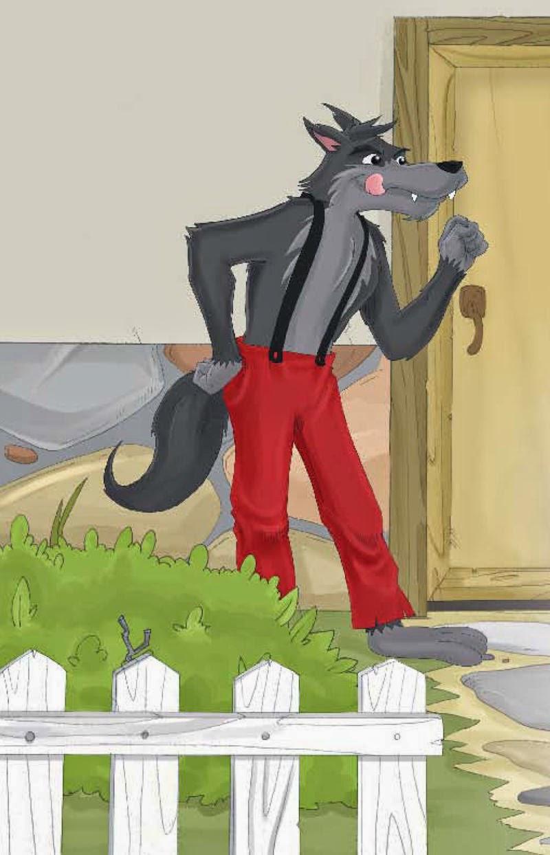 Cuentos Infantiles El Lobo Y Los Siete Cabritillos Cuento