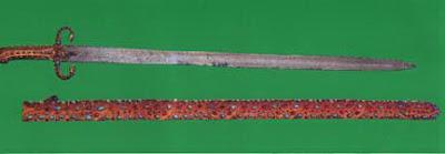 foto pedang nabi muhammad Al Ma'thur