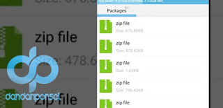 Cara Extract File AR dan ZIP di Android