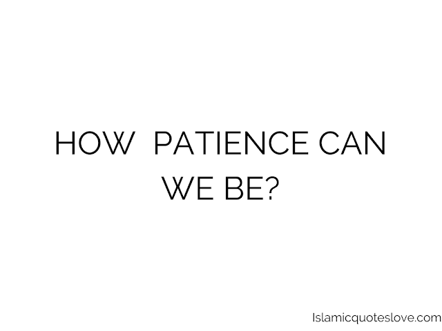 "Bismillaahir Rahmaanir Raheem.   Let's continue from the first Reminder.  1. Patience for the sake of Allah, hoping for His rewards and fearing His punishment. 2. Patience by the help of Allah, as man realizes that he has no patience himself, and has no power to acquire patience. Rather, he knows: ""there is no power and no strength except by (the help of) Allah."" 3. Patience in accepting the decree of Allah, as man realizes that Allah is the only one Who is controlling the affairs of the universe, so he will patiently accept the ruling and decree of Allah, regardless of what it may mean for him in the way of ease or hardship.  Patience is a half of eeman. Eeman is in two halves: half is patience (sabr) and half is gratitude (shukr). Therefore Allah has mentioned patience and gratitude alongside one another: ""... Verily in this are signs for all who constantly persevere and give thanks"" (Ibrahim 14: 5; Luqman 31:31; Saba 34: 19; ash-Shura 42: 33). The reasons why one half of eeman is patience and the other half is gratitude are as follows: Eeman is a term which covers words, deeds and intentions, all of which are based on one of two things, action or abstinence. Action refers to performing a deed in accordance with the instructions of Allah, which is the reality of gratitude. Abstinence, as in refraining from wrong action, requires patience. The whole of religion is embodied in these two things: carrying out that which Allah has commanded, and refraining from that which Allah has prohibited. Eeman is based on two pillars, yaqin (conviction) and patience, which are referred to in the following ayah: ""And ALLAH appointed, from among them, leaders, giving guidance under Allah's command, so long as they persevered with patience and continued to have faith in Allah's Signs"" (As-Sajdah 32: 24). It is through faith that we know the reality of Allah's commands and prohibitions, of reward and punishment, and it is through patience that we carry out His instructions and abstain from that which He has prohibited. Man is constantly being pulled in two opposing directions: should he respond to the lure of this world of desires and pleasures, or should he answer the call of Allah and the hereafter, with the eternal Paradise that Allah has prepared for His friend (Wali)? Going against the call of whims and desires is patience, and responding to the call of Allah and the hereafter is gratitude. Alhamdulillah. To be continued in Shaa Allah. May Allah aid us to apply to our ways of life as we learn along. Aameen."