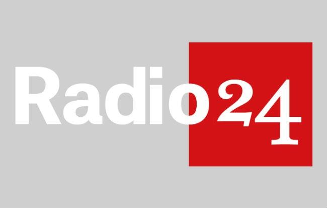 Il logo di Radio 24