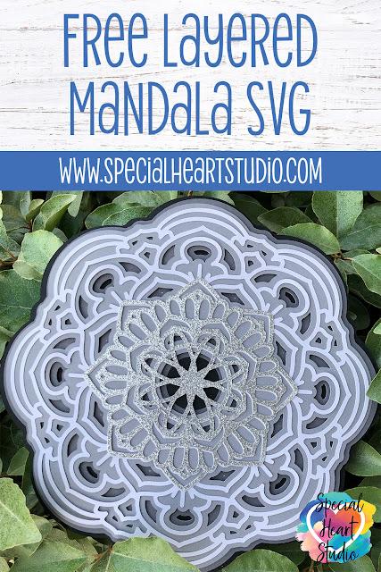 Free Layered Mandala Svg : layered, mandala, Where, Layered, Mandalas