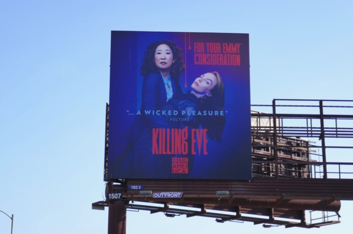 Killing Eve 2019 Emmy FYC billboard