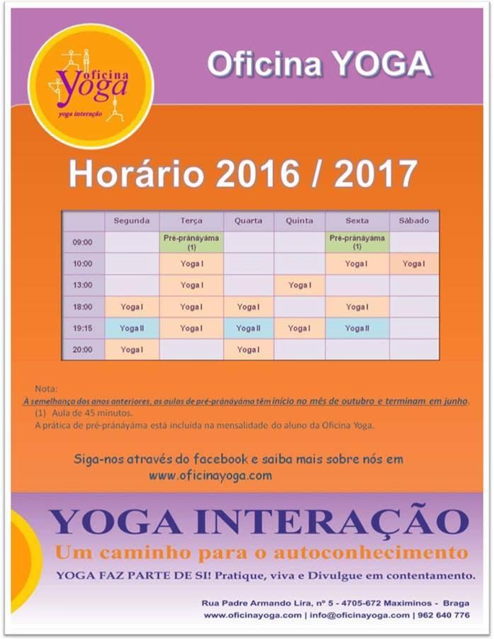 Hor rio oficina yoga for Horario oficina adeslas
