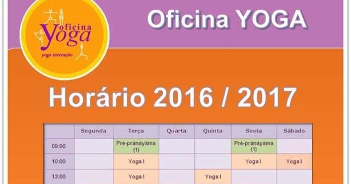Oficina yoga hor rio for Horario oficina adeslas