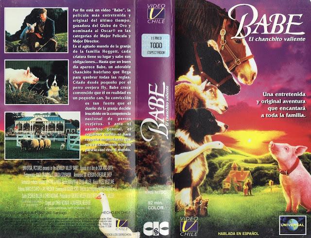 Pelicula: Babe el chanchito valiente - 1995