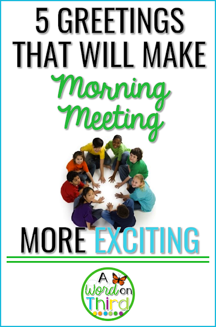 5 Greetings That Will Make Morning Meeting More Exciting