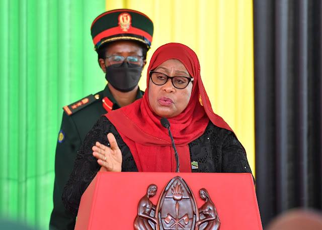 RAIS SAMIA AWAAPISHA MAWAZIRI,ATOA NENO WAZIRI MPYA WA ULINZI