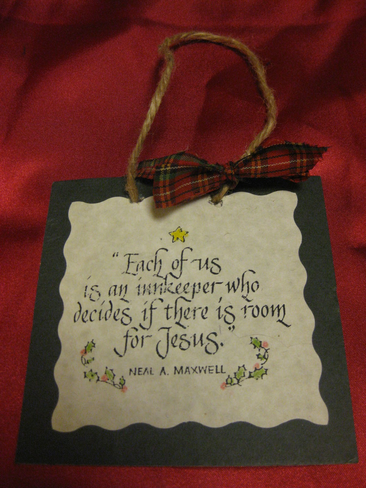 Tip Garden Innkeeper Ornament