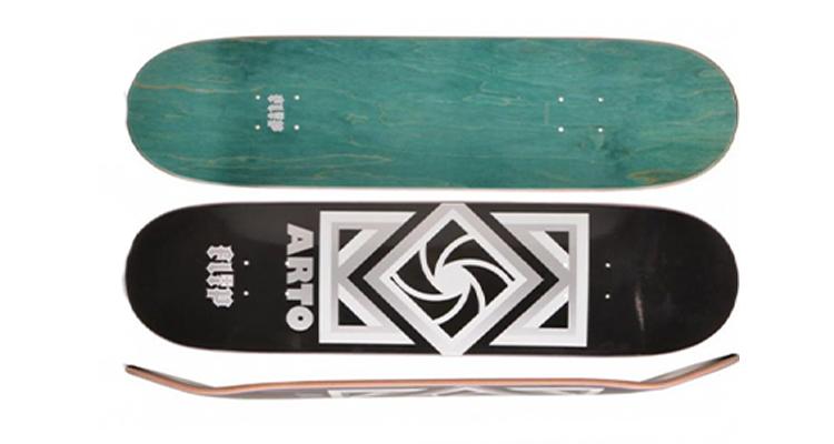 Peças do Skate - Tipos de Shape para Vertical