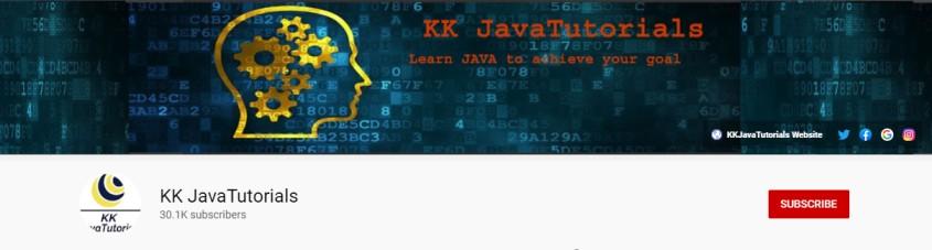 KK JavaTutorials