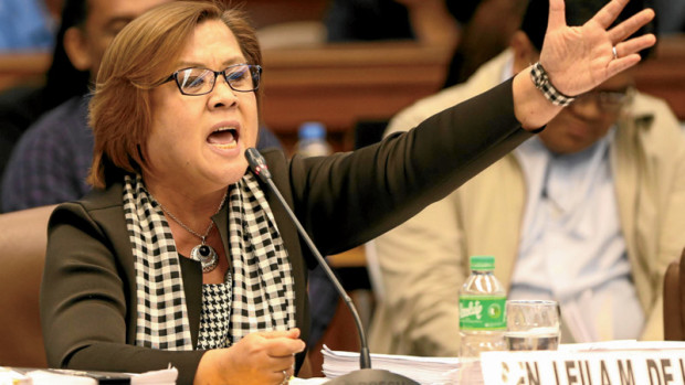 De Lima Urged To Investigate Duterte: 'Maybe Duterte Is The Top Drug Lord Protector!'