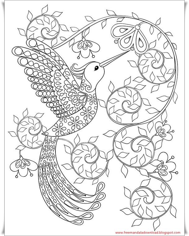 mandala malvorlagen vogel  tippsvorlage