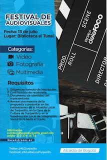 Festival de Audiovisuales 2019 en Tunjuelito Bogotá…