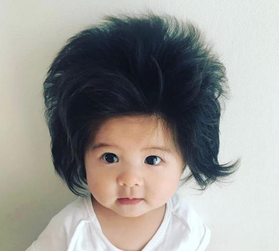 Com 7 meses, este é o bebê mais cabeludo do mundo e está encantando a internet