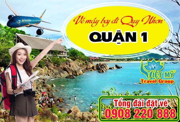 Vé máy bay đi Quy Nhơn tại quận 1