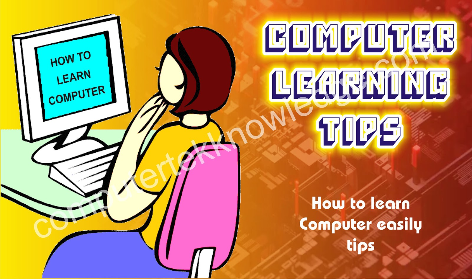 computer learning tips for beginners in hindi