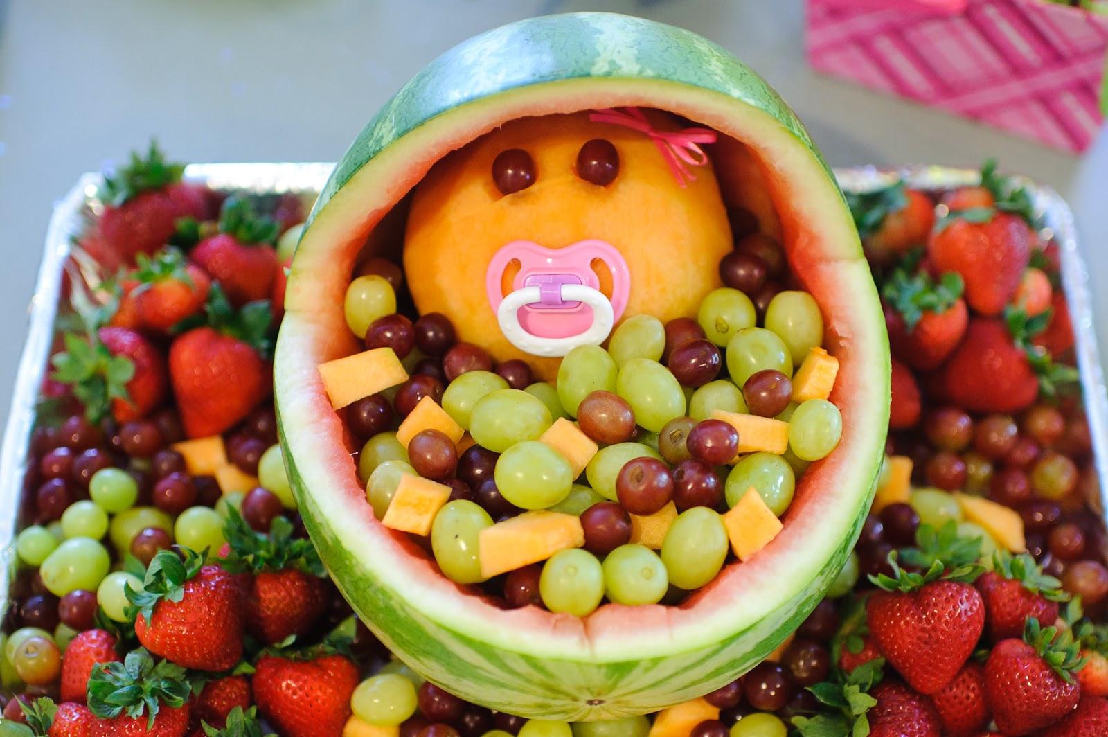 The Mandatory Mooch: Baby Shower Fruit Bassinet