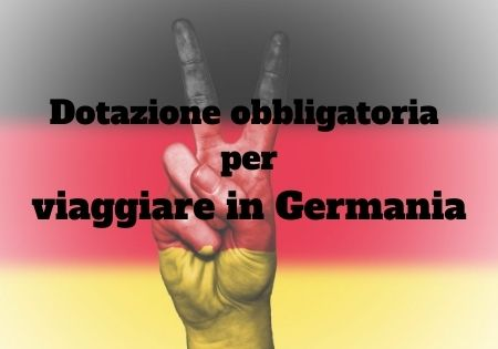 dotazione auto Germania