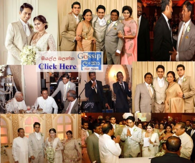 Wijeyadasa Rajapakshe's son wedding