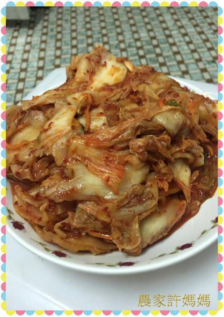 讓人眼睛一亮的韓式泡菜~~實在夠勁