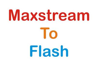 Cara Merubah Kuota Maxstream Menjadi Kuota Flash