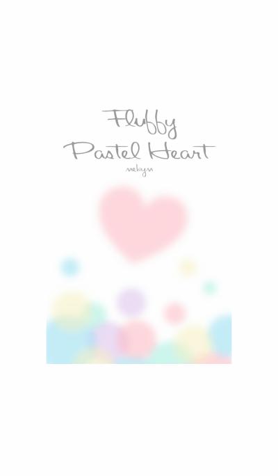 Fluffy Pastel Heart...