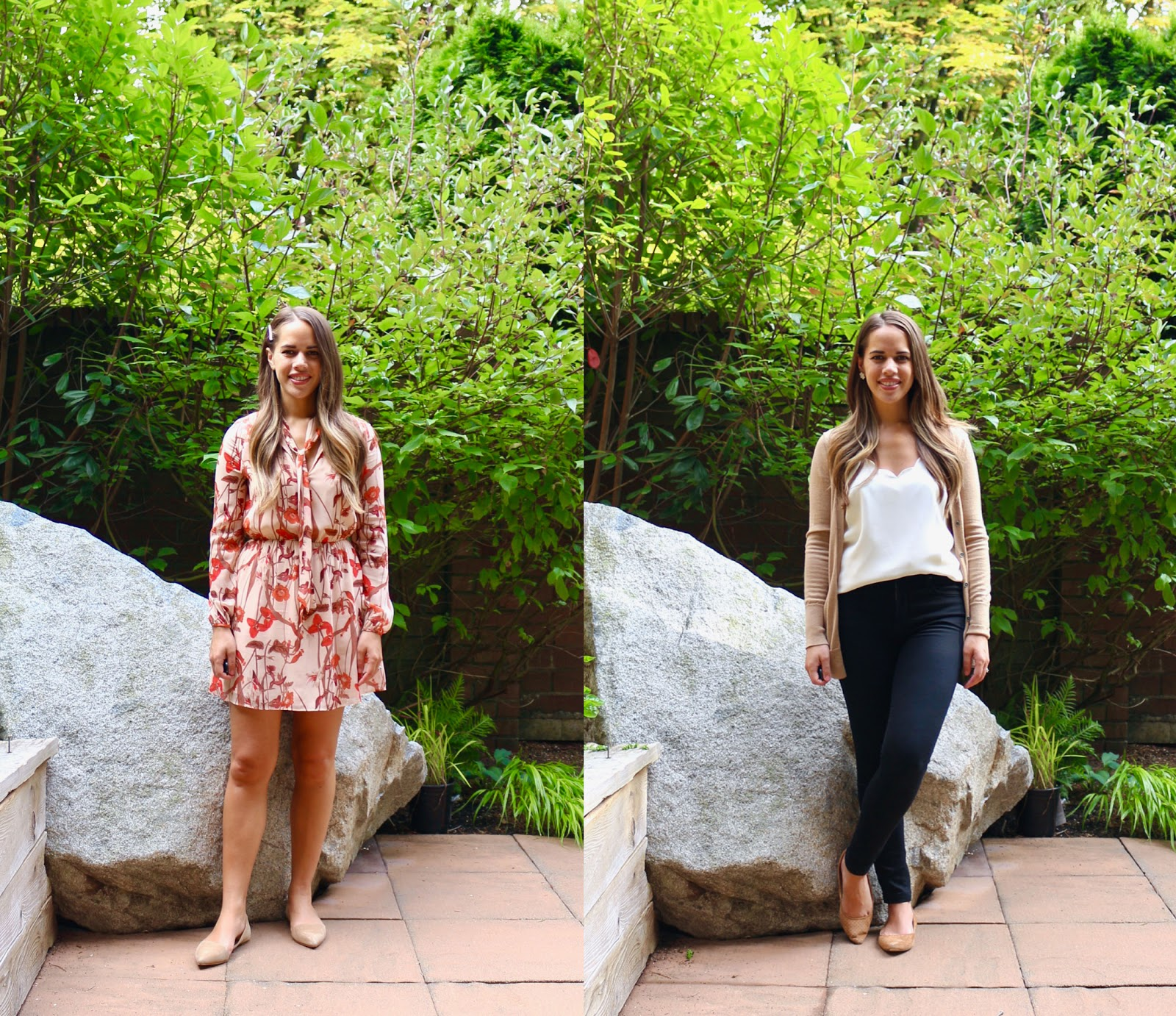 Jules in Flats - July Outfits Week One (Business Casual Workwear on a Budget)