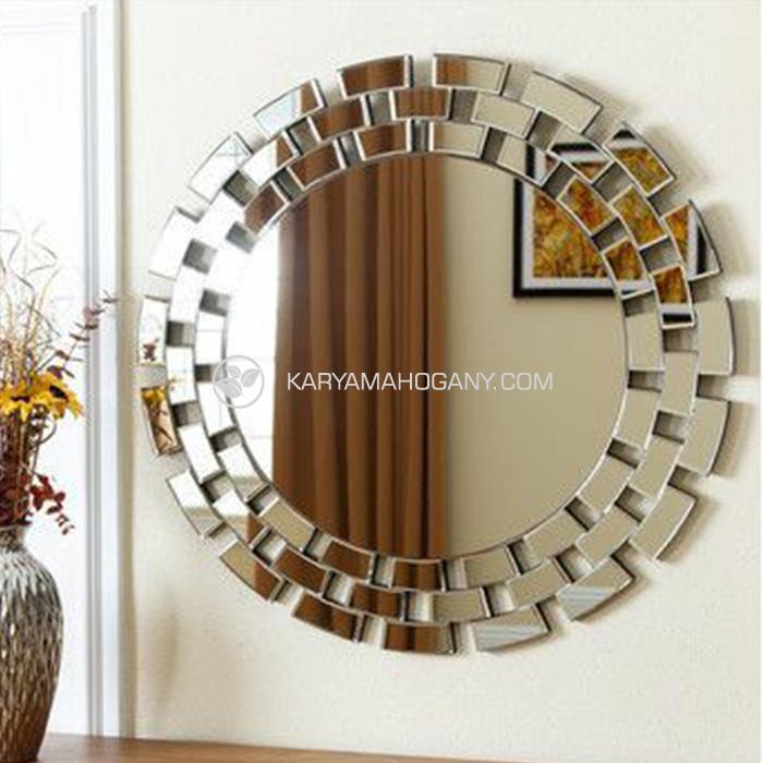Cermin Hias Bundar Mewah | Jual Cermin Mewah